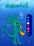 Aquatus Reference Sheet by DragonDrawer102
