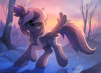 Winter morning by hioshiru-alter