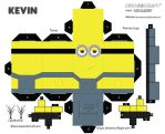 cubeecraft minion Kevin by Donmanny1696