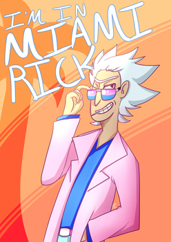 Miami Rick by w1tchprince