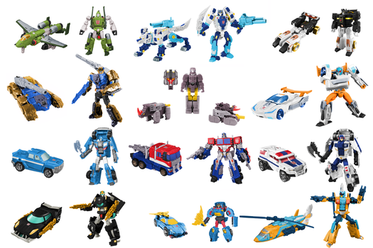 Cybertron Autobots Digibash by Air-Hammer
