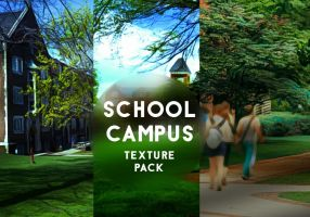 School Campus Texture Pack by mikaelsonx