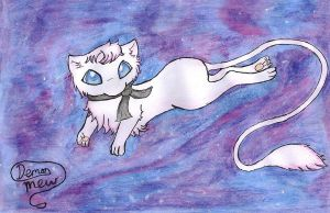 Psychic Space Kitty! by DemonMew