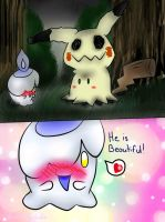 Litwick is infatuated by AudeliSylphie