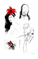 DrSketchy's 10-25-15 by ezy-e