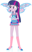 Twilight Sparkle as Bloom by user15432