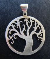 Silver Tree by Athalour