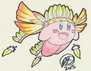Gifts from Dreamland Collab ~ Wing Kirby by ChibiKirbylover