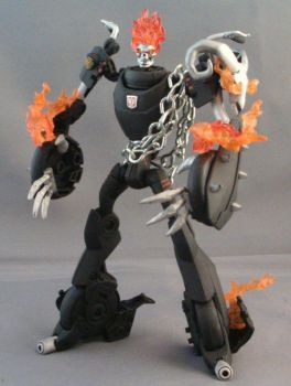 Transformers Ghost Rider Bot1 by Shinobitron