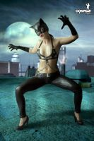 Catwoman week - Gogo by cosplayerotica