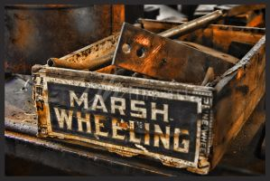 Abandoned Machine Shop - Marsh Wheeling by cjheery
