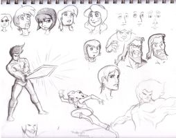 Sketches: Thundercats by GeorgeRottkamp