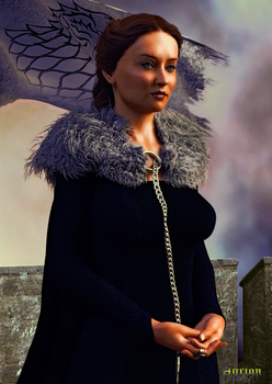 Lady of Winterfell by Agr1on