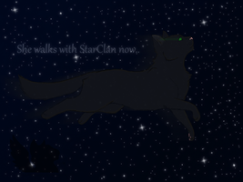 She walks with StarClan now. *spoilers* by icrystalline