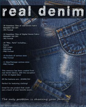 Real Denim Resource by cosmosue