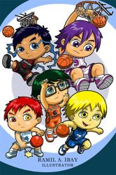Chibi GENERATION of MIRACLES by dGREAT1