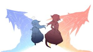 Dragon Sisters by Porforever