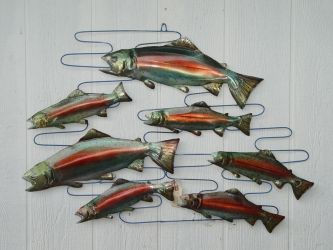 School of Trout by GreatLakesMetalWorks