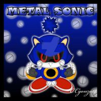 Metal Sonic Chao by CCmoonstar23