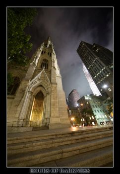 Saint Patricks Cathedral by Hoursofdarkness