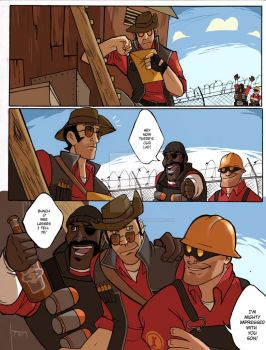 TF2: Be Efficient Be Polite 36 by spacerocketbunny