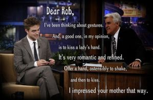 Dear Rob Message from his dad Richard Pattinson by Maysa2010