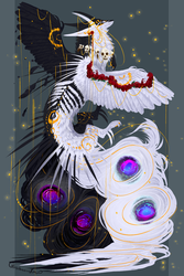 Balance of the Cosmos QuillDog Deity by MischievousRaven