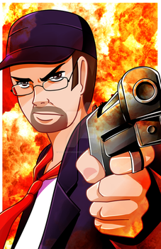 The Nostalgia Critic by TheCrayonQueen