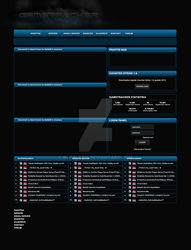 bgfalcon 2 0 gametracker template for sale by bgfalcon