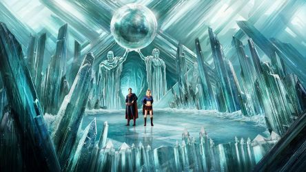 Fortress of Solitude by michpirate