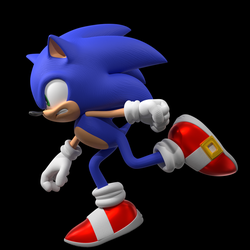 Sonic the Hedgehog (Forces Model) Part 1 by BefitHalo-PWN
