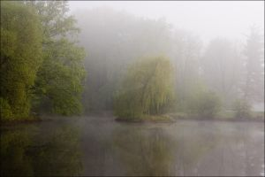 mystic lake by greenfeed
