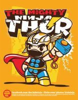 Ninja Thor by supermanisback