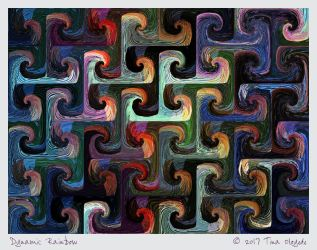 Dynamic Rainbow by aartika-fractal-art