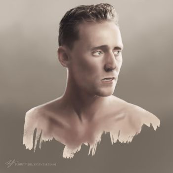 Tom Hiddleston by TommyStims