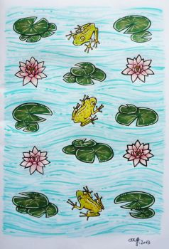 Frog Pattern by cuygirl