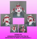 Goldeen hat by PokeMama