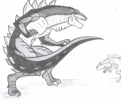 Zilla Jr by ick25