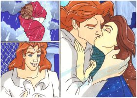 Beauty and the Beast Transformation by perfect-fairytale