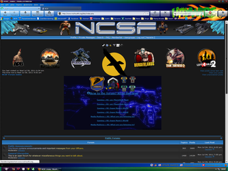 NCSF Front Page by haywire7