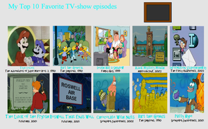 Ragameechu's Favorite TV Episodes by Ragameechu