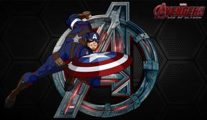 Avengers AOU- Captain America (EMH) by MAD-54