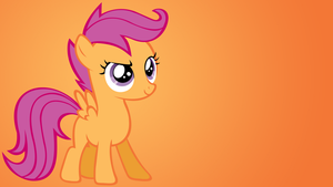Scootaloo Wallpaper by Shelmo69