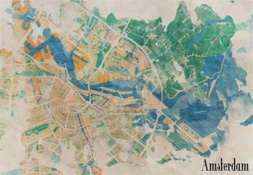 Amsterdam, the watercolor beauty by rouages