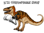 Remember the Appalachiosaurus with long arms? by ZeWqt