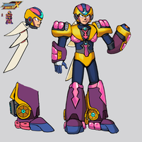 Red Thunder Redesign (MMX:U49) by IrregularSaturn