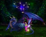 Fairy with Dragon by Aysha1994raven