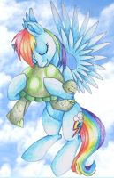 Love your pets like Rainbow by rosha-krieger