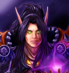 Request - Vyneil Mage by MistressAinley