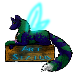 Art Status with Rockheart the Wild by R-o-c-k-h-e-a-r-t